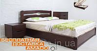 Кровать Каролина (бук) с подъемным механизмом