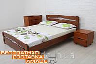 Кровать Каролина (бук) с изножьем 200х160(Под заказ)