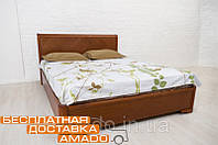 Кровать Ассоль (бук) с подъемным механизмом, высота изголовья 920 мм Микс мебель