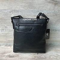 Стильная мужская сумка Armani через плечо, фото 1