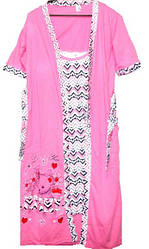 Комплект 2 в 1 халат и ночная рубашка Турция размер L (наш 44-46)