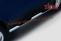 Пороги с проступями d76 Союз 96 на Ford EcoSport 2014