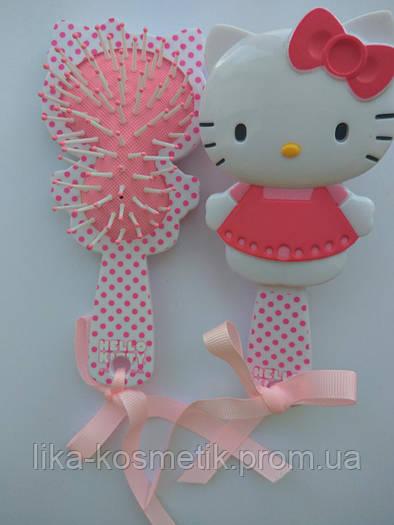 Luxury Расческа массажная HBK-9250 детская Hello Kitty.