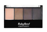Набор для коррекции бровей Ruby Rose HB-9354, фото 1
