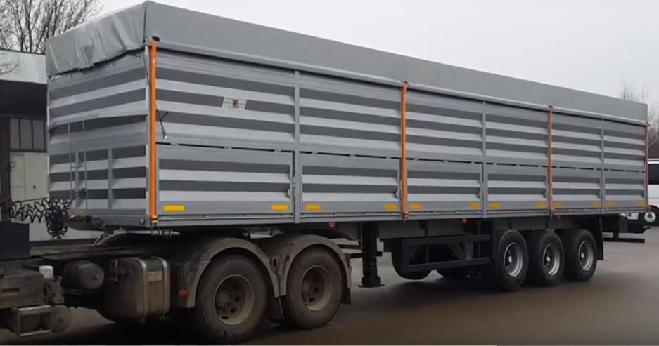 Тент ПВХ для зерновозов их ткани ПВХ Германия 680 г/м2.
