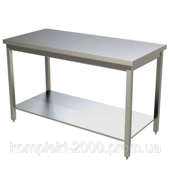 Разделочный стол из нержавейки для кухни ресторана и кафе