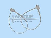 Соединитель с фиксацией белый 75 мм (биркодержатели)