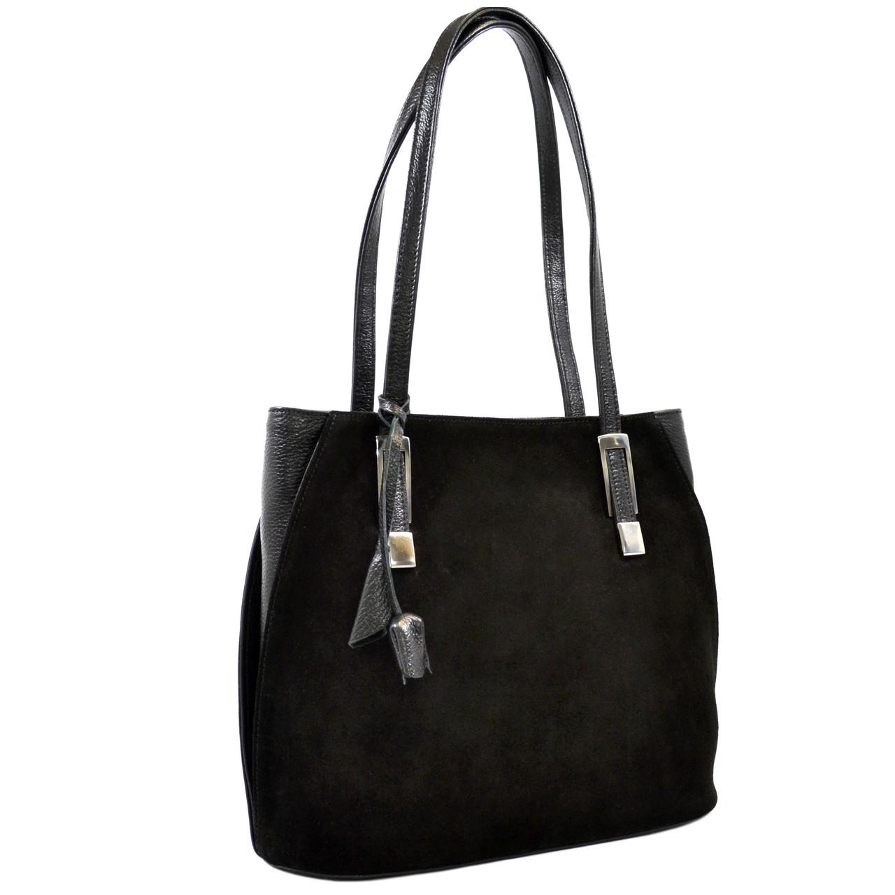 Кожаная женская сумка на плечо Desisan