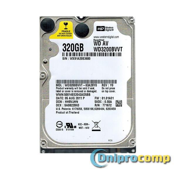 Жорсткий диск 2.5 320GB 7200rpm