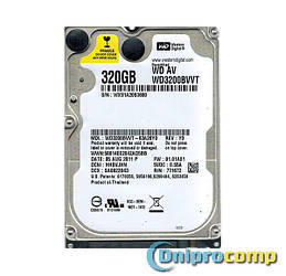 Жесткий диск 2.5 SLIM 320GB 5400rpm