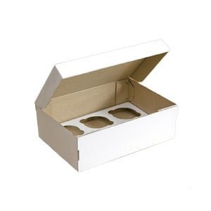 Коробка для маффинов  6шт. 25х18х8 Галетте - 01735