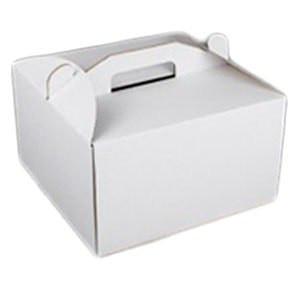 """Коробка самосборная для торта """"высокая""""30*30*40 Галетте- 01001"""