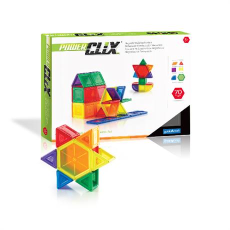 Конструктор PowerClix Solids - 70 деталей