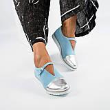 Туфли замшевые с ремешком