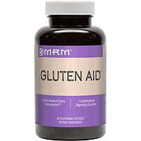 Gluten Aid 60 капс Помощь при целиакии Ферменты с DPP IV для усвоения глютена казеина  MRM USA