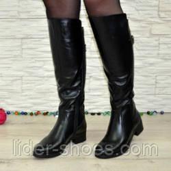 Женские зимние сапоги на низком каблуке: какие выбрать?