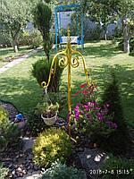 Стойка садовая для кашпо декоративная СД-4
