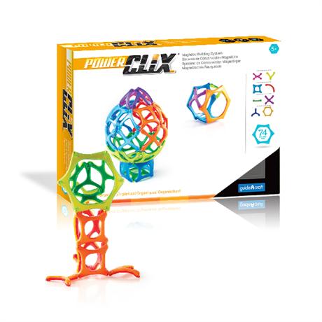 Конструктор PowerClix Organics, 74 деталей