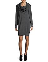 Женское серое платье со съемным воротником Michael Kors, фото 1