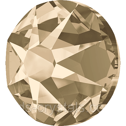Кристаллы Swarovski клеевые холодной фиксации 2088 Light Silk F (261) (упаковка 1440 шт)