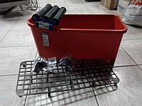 Набор для  плиточника ёмкостью  20л(красное ведро)+ ролики тойные