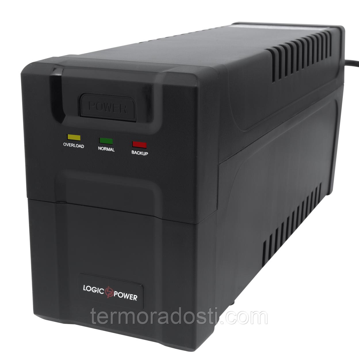 ИБП линейно-интерактивный LogicPower 650VA-P