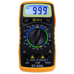 Мультиметр цифровой DT-830L / тестер