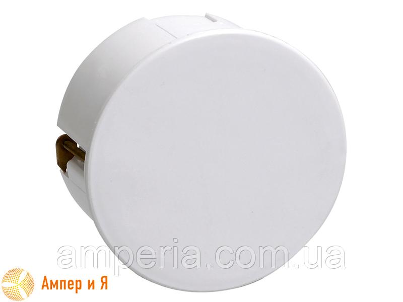 Коробка КМ41025 распаячная d80х40мм для полых стен, пласт. лапки (UKG01-080-040-000-P)