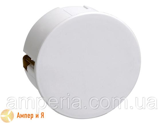 Коробка КМ41025 распаячная d80х40мм для полых стен, пласт. лапки (UKG01-080-040-000-P), фото 2