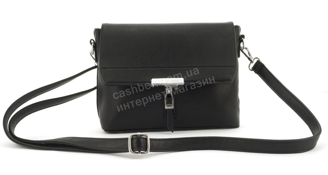 Небольшая практичная удобная и прочная небольшая сумочка SHENGMA art. 881142 черная