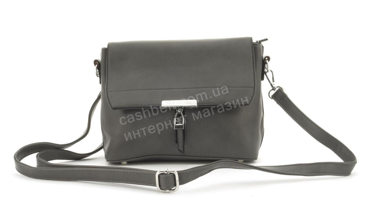 Небольшая практичная удобная и прочная небольшая сумочка SHENGMA art. 881142 серая