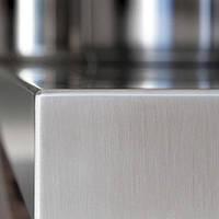 Кухонная столешница из нержавеющей стали для стола в ванную |  Столешница на заказ из нержавейки для кухни