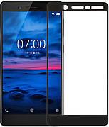 Защитное стекло Full Cover Nokia 7 Черное