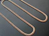 Золотая ЦЕПЬ универсальное плетение ШАРЛОТТА 13.75 г. 45 см, фото 7
