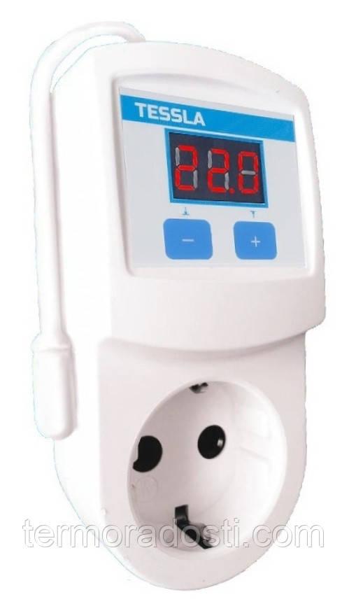 Розеточный термостат для инкубатора Tessla TRI