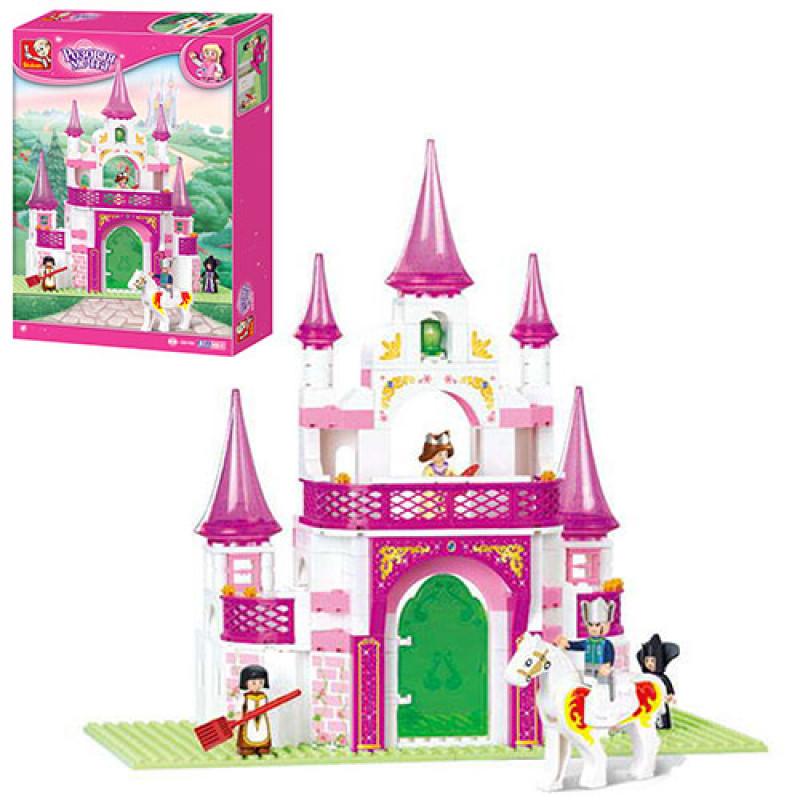 Конструктор SLUBAN замок принцессы, 271дет, M38-B0153