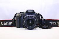 Б/у зеркальный фотоаппарат Canon Rebel T1i (500d) efs 18-55, фото 1