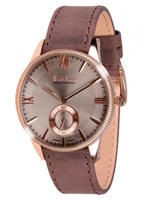 Мужские наручные часы Guardo S01863 RgBrBr