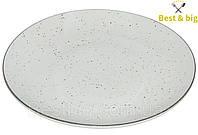 Тарелка мелкая без борта (Мрамор) - 21 см (Farn) Siesta