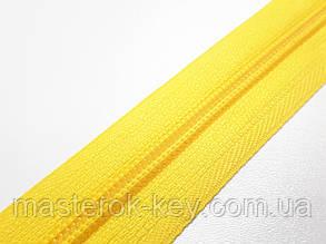Молния спиральная метражная №5 цвет желтый #001