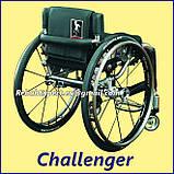 Активная инвалидная коляска для взрослых GTM Mobil Challenger Active Wheelchair, фото 4