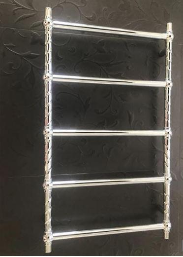 Полотенцесушитель в хроме водяной электрический 1-12