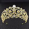 Свадебная корона колье и серьги РАУНА набор свадебная бижутерия, фото 8