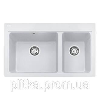 Кухонная мойка Franke Fiji FIG 620-80 (114.0367.672) белый, фото 2