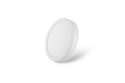 Светильник LED круг белый 7 Вт накладной металл GALAXY LED
