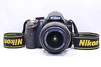 Б/у Зеркалка Nikon D3200 af-s nikkor 18-55 №3, фото 1