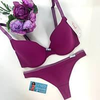 Пурпурный комплект белья от Triumph