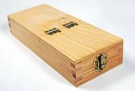 Пенал для кистей деревянный