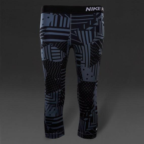 abd64d72 Женские Леггинсы Nike Pro Patch Work 689832-494 (Оригинал) - Football Mall -