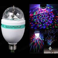 Светодиодная Дисколампа LED вращающаяся